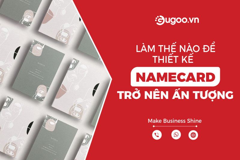 lam the nao de thiet ke namecard