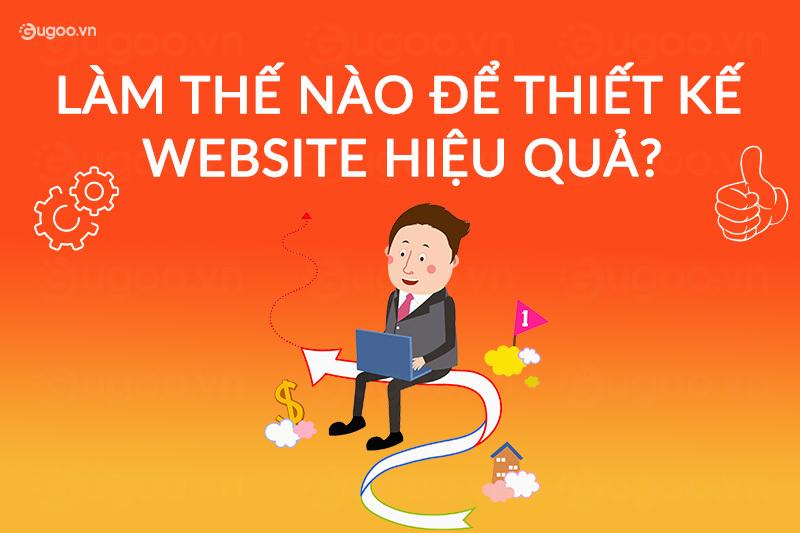lam the nao de thiet ke website hieu qua