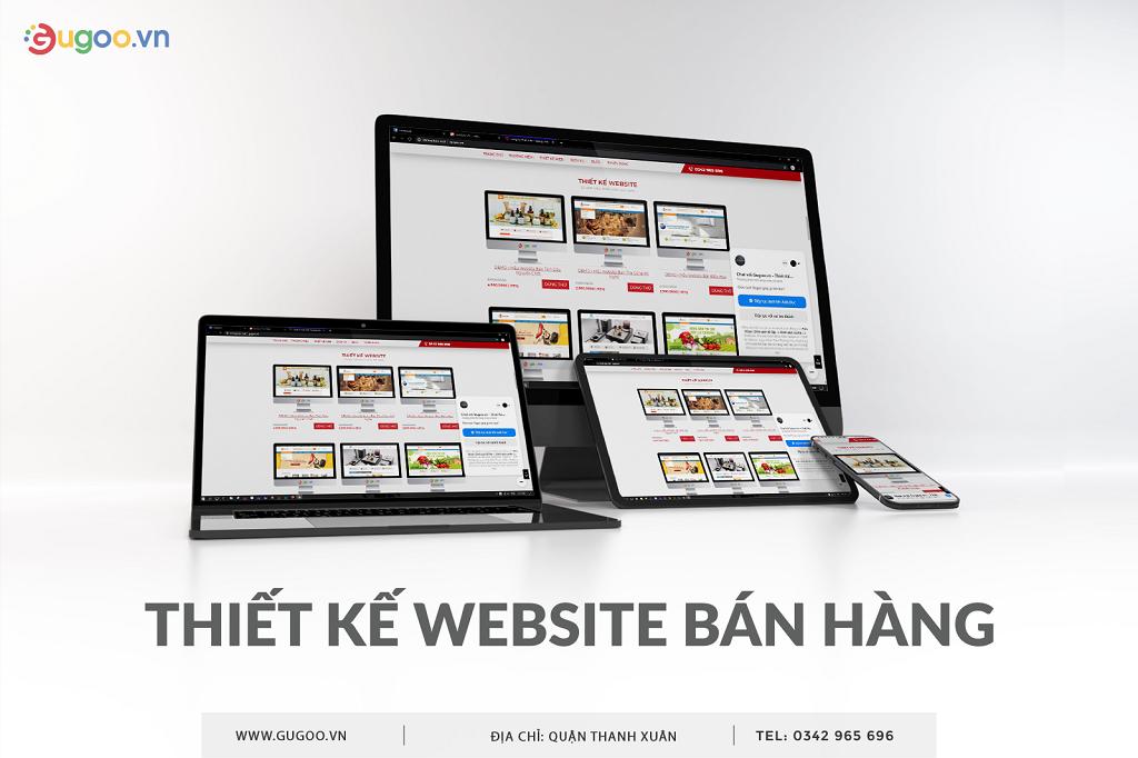 thiet ke website ban hang o Thanh Xuan