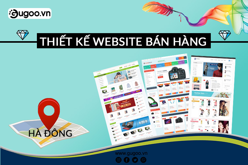 thiet ke website ban hang tai Ha Dong