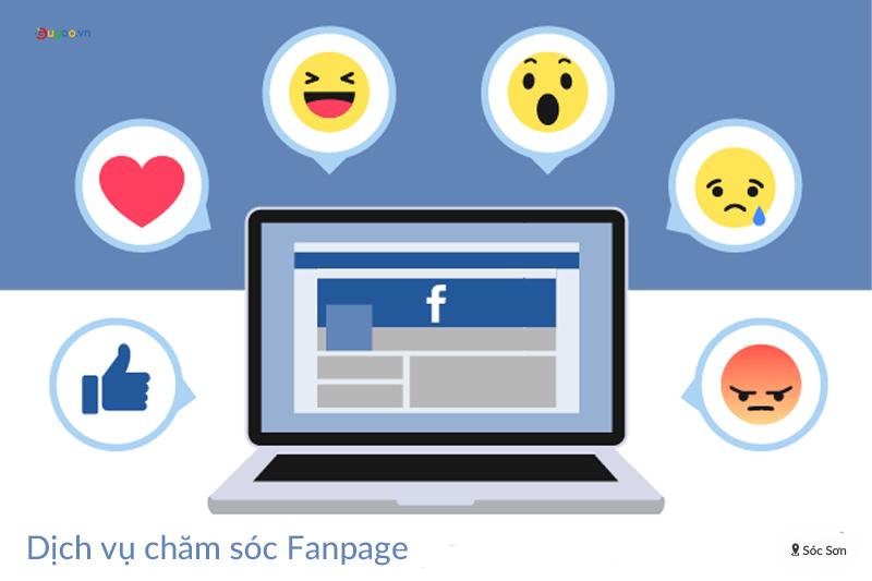 cham soc fanpage tai Soc Son