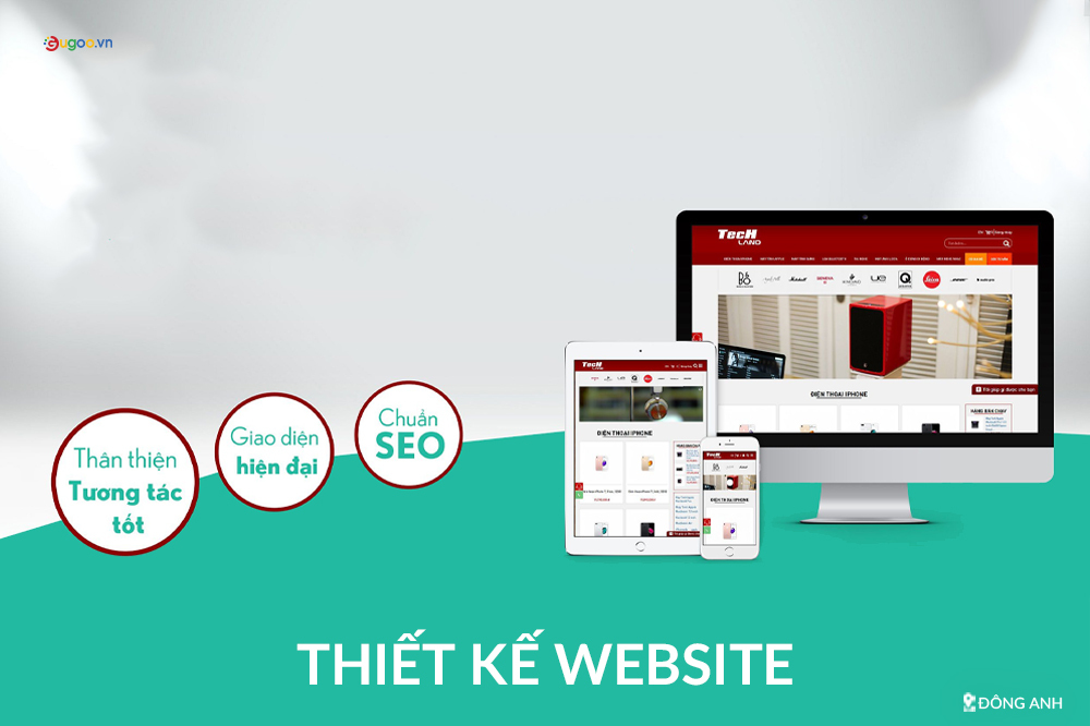 thiet ke web tai Dong Anh