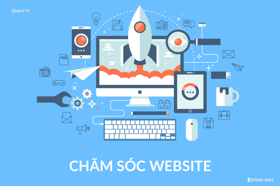 cham soc website tai Dong Anh