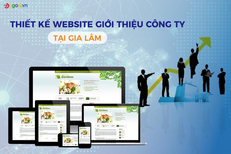 website gioi thieu cong ty tai Gia Lam