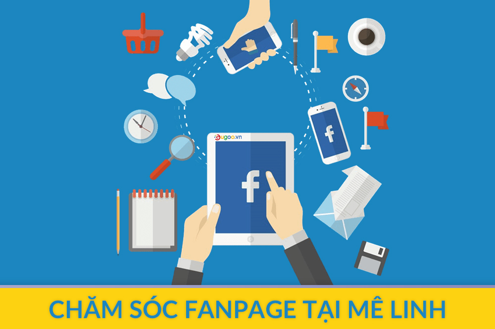 cham soc fanpage tai Me Linh