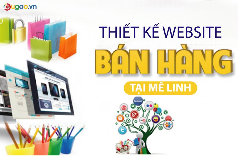 thiet ke web ban hang tai Me Linh
