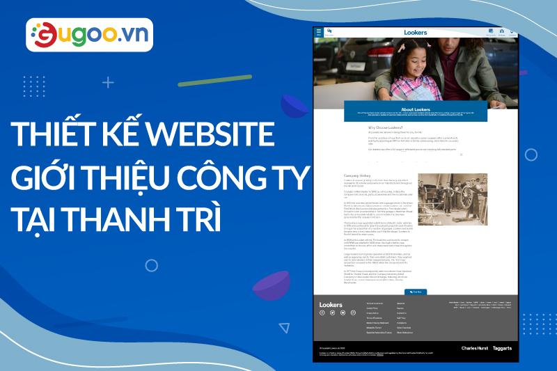 thiet ke website gioi thieu cong ty
