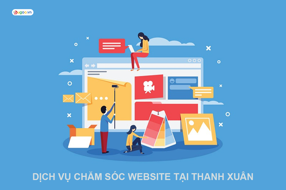 dich vu cham soc website tai Thanh Xuan