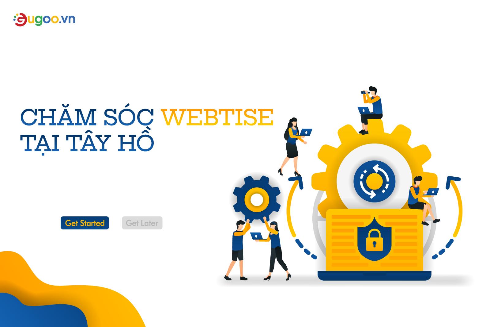 cham soc website tai Tay Ho