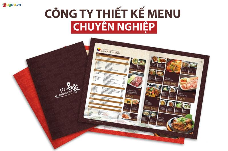cong ty thiet ke menu chuyen nghiep