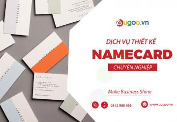 Dịch Vụ Thiết Kế Namecard Chuyên Nghiệp