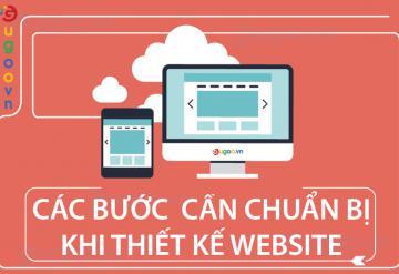 Các Bước Cần Chuẩn Bị Khi Thiết Kế Website.