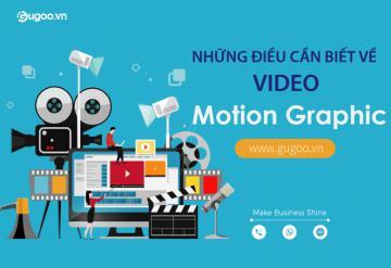 Những Điều Cần Biết Về Video Motion Graphic