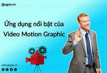 Ứng Dụng Nổi Bật Của Video Motion Graphic.