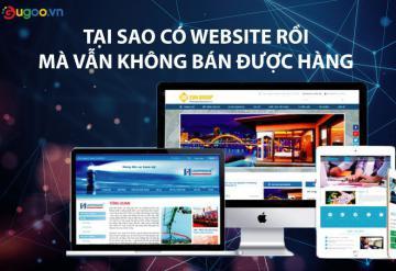 Tại Sao Tôi Có Website Mà Vẫn Không Bán Được Hàng