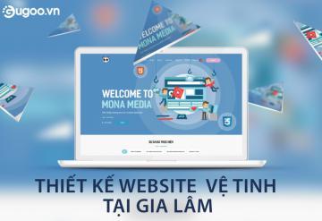 Thiết Kế Website Vệ Tinh Tại Gia Lâm