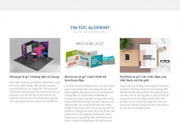 Mẫu Thiết Kế Website Công Ty In Ấn