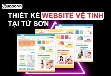 Thiết Kế Website Vệ Tinh Tại Từ Sơn