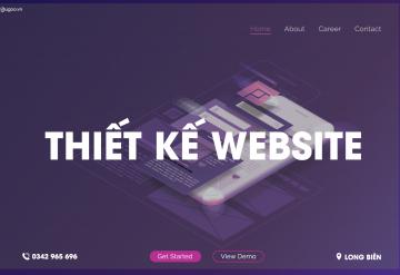 Thiết Kế Website Tại Long Biên