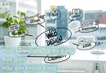 Thiết Kế Website Tại Hà Đông Đơn Giản Hấp Dẫn Khách