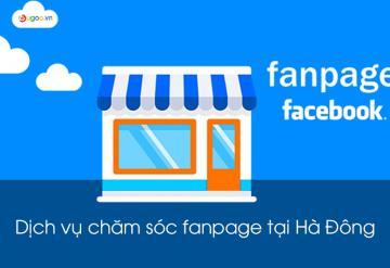 Dịch Vụ Chăm Sóc Fanpage Tại Hà Đông