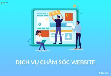Dịch Vụ Chăm Sóc Website Tại Sóc Sơn