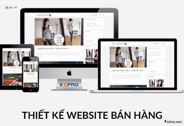 Thiết Kế Website Bán Hàng Tại Đông Anh