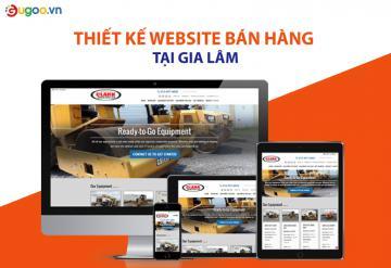 Thiết Kế Website Bán Hàng Tại Gia Lâm