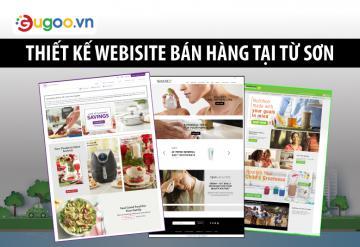 Thiết Kế Website Bán Hàng Tại Từ Sơn