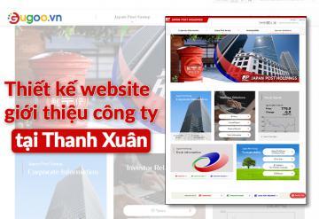 Thiết Kế Website Giới Thiệu Công Ty Tại Thanh Xuân
