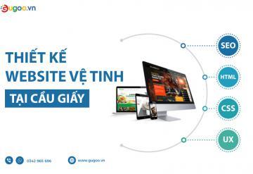 Thiết Kế Website Vệ Tinh Tại Cầu Giấy