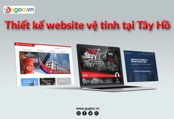 Thiết Kế Website Vệ Tinh Tại Tây Hồ