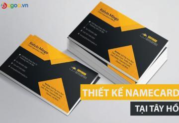 Công Ty Thiết Kế Namecard Chuyên Nghiệp Tại Tây Hồ