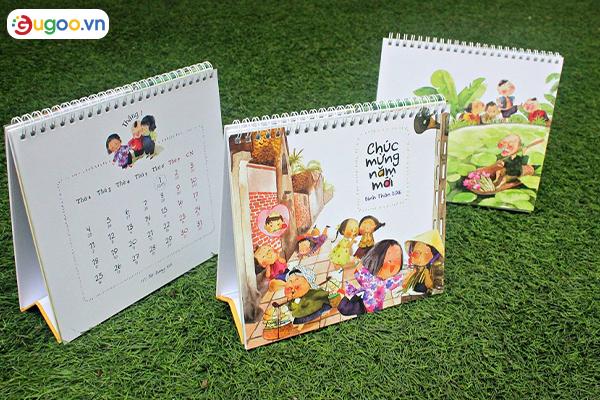 Thiết kế lịch để bàn GLB1