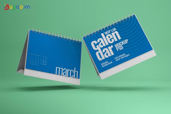 Thiết kế lịch để bàn GLB10