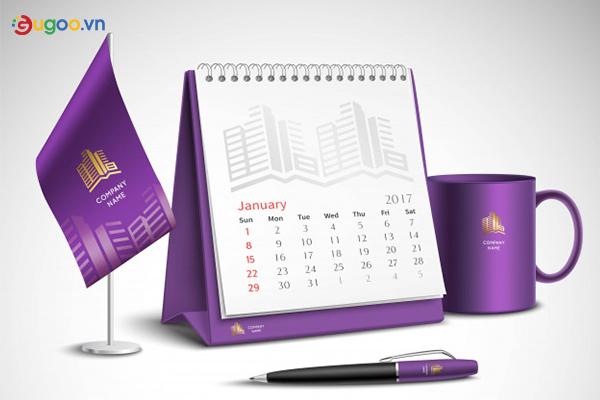 Thiết kế lịch để bàn GLB12