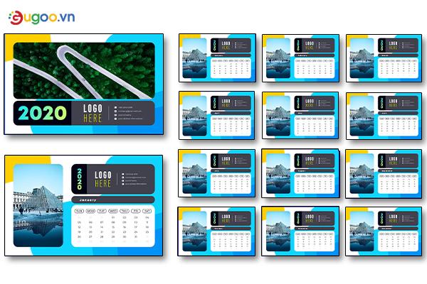 Thiết kế lịch để bàn GLB13
