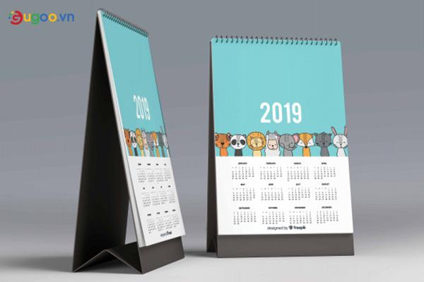 Thiết kế lịch để bàn GLB15
