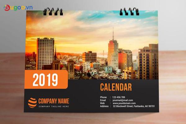 Thiết kế lịch để bàn GLB18