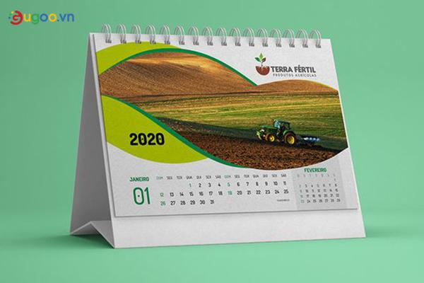 Thiết kế lịch để bàn GLB20