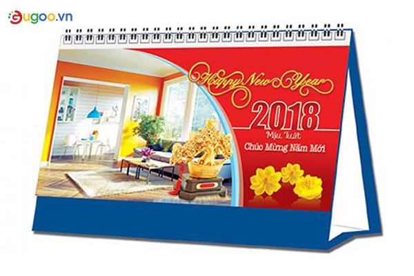 Thiết kế lịch để bàn GLB7