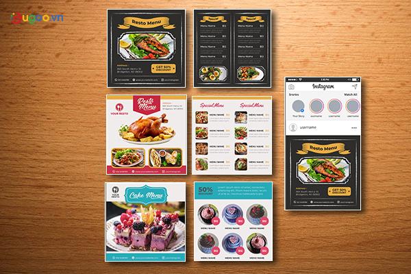 Thiết kế thực đơn - Menu GMN19