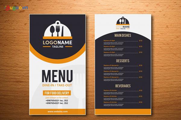 Thiết kế thực đơn - Menu GMN23