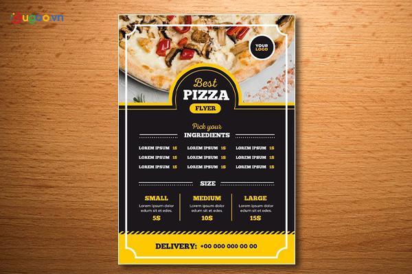 Thiết kế thực đơn - Menu GMN24