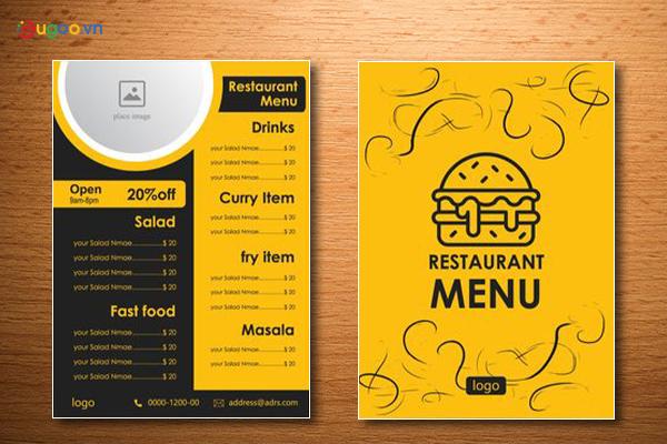 Thiết kế thực đơn - Menu GMN28