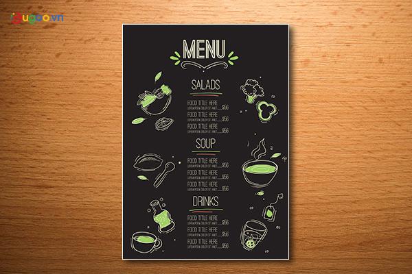 Thiết kế thực đơn - Menu GMN8